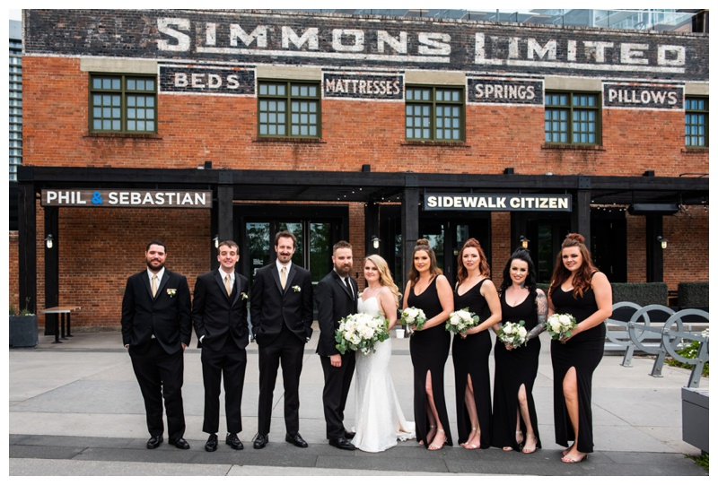 Calgary Wedding Photographers- Simmons Building Wedding