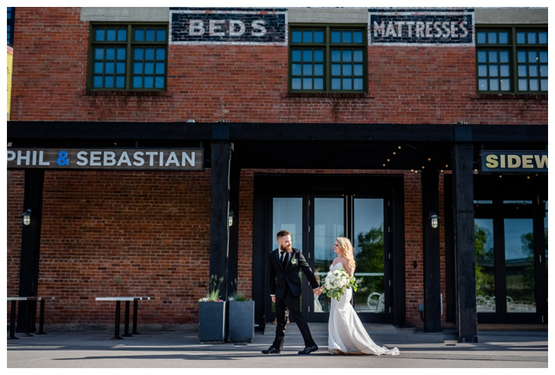 East Village Wedding Photography - Calgary Wedding Photographer