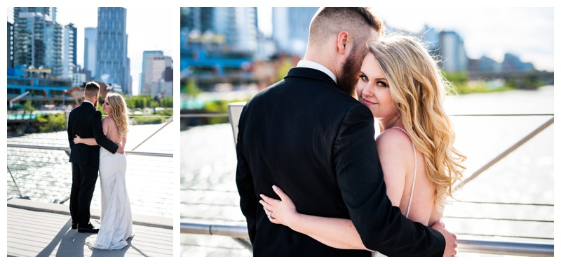 East Village Wedding Photography - Calgary Wedding Photographers