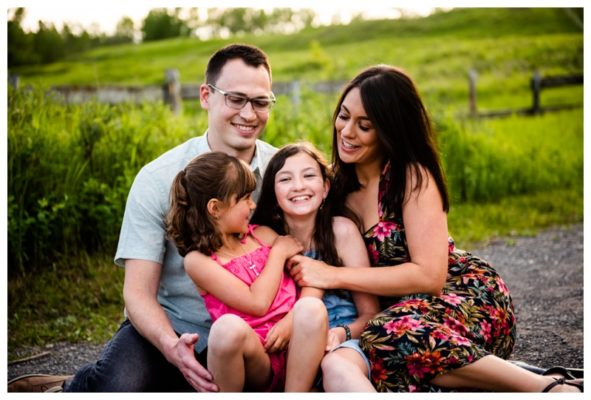 Calgary Fish Creek Park Family Session | Calgary Family Photographer