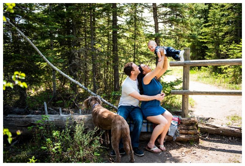 Griffith Woods Family Photos Calgary