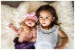 Calgary At Home Milestone Photography | Baby Ilyza | Calgary Newborn Photographer