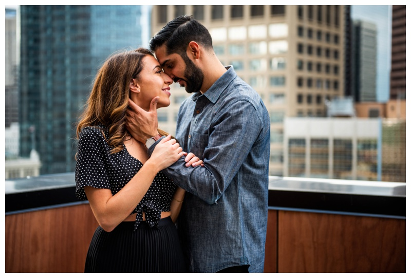 Calgary Le Germain Hotel Roof Top EngagementCalgary Le Germain Hotel Roof Top Engagement Photographer Photographer