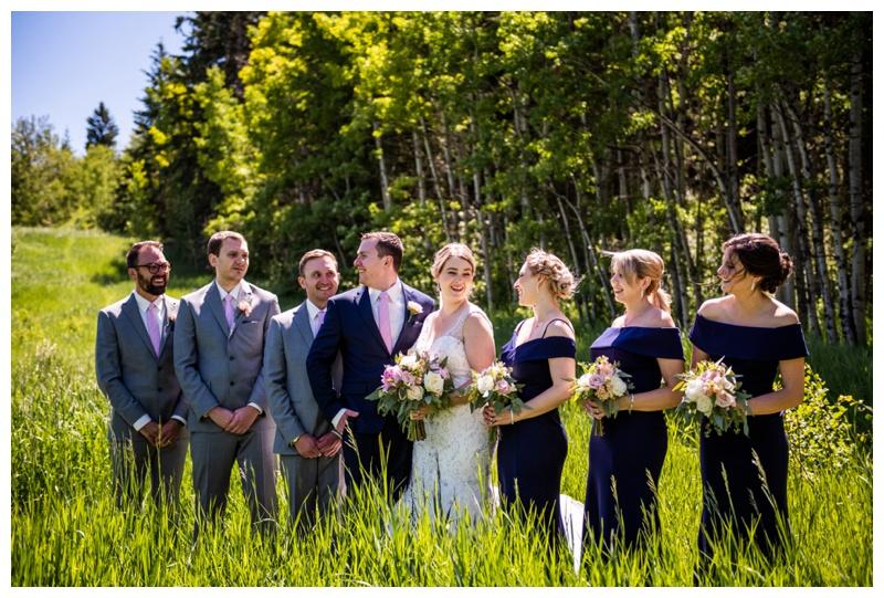 Calgary Valley Ridge Golf Course Wedding Photo
