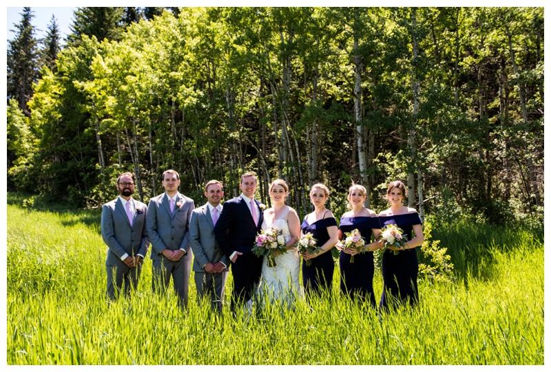 Calgary Valley Ridge Golf Course Wedding Photos
