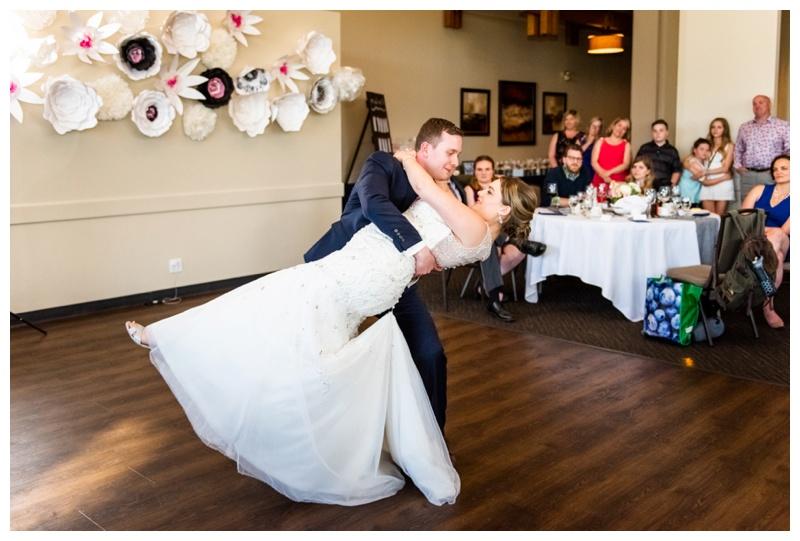 Calgary Valley Ridge Golf Course Wedding Reception