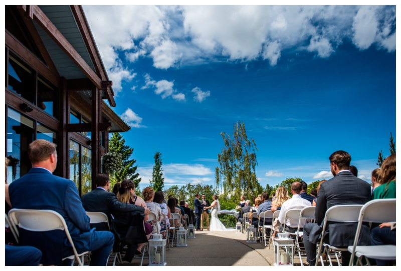 Calgary Wedding Photographer - Valley Ridge Golf Course Ceremony Wedding Calgary