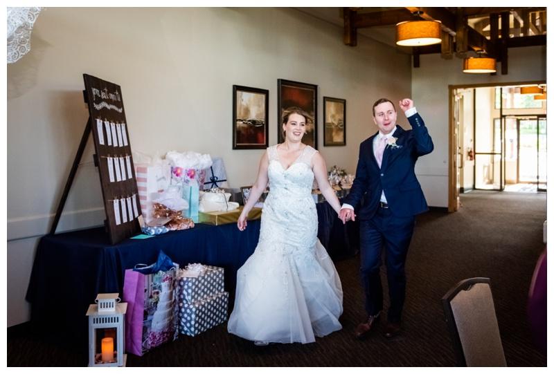 Calgary Wedding Photography - Calgary Valley Ridge Golf Course Wedding Reception
