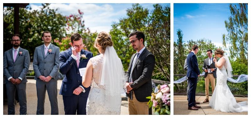 Calgary Wedding Photography - Valley Ridge Golf Course Wedding Ceremony Calgary