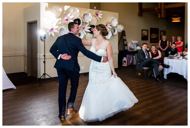 Calgary Wedding Photos - Calgary Valley Ridge Golf Course Wedding Reception
