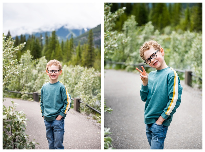 Mount Loretta Ponds Family Photographer Kananaskis
