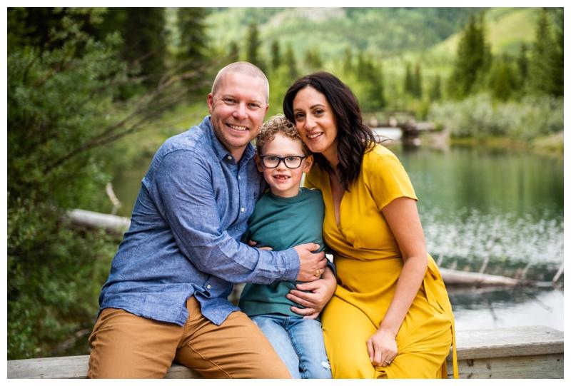 Mount Loretta Ponds Family Photographers Kananaskis