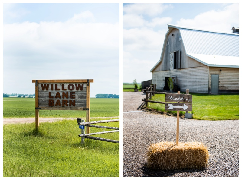 Spring Willow Lane Barn Wedding