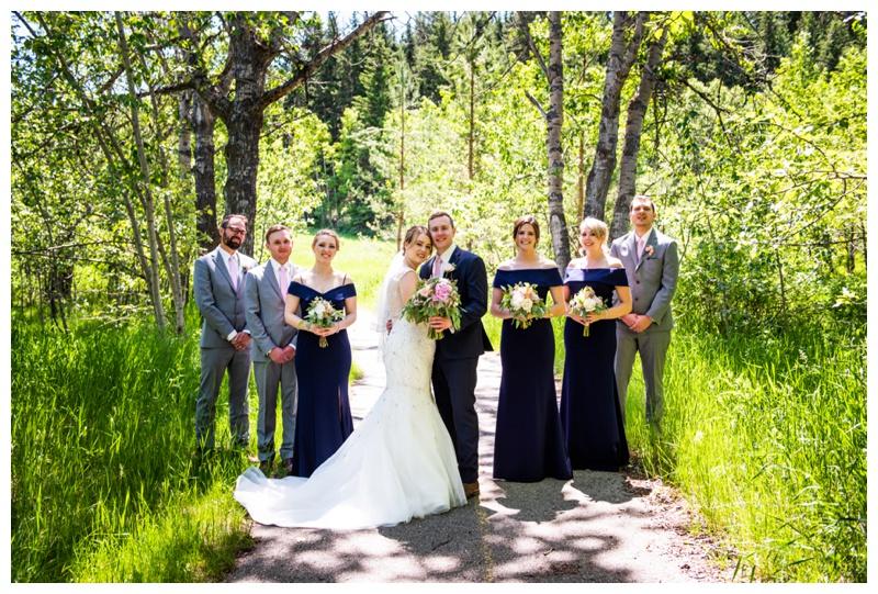 Valley Ridge Golf Course Wedding Photo Calgary