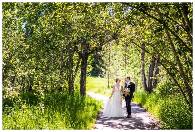 Valley Ridge Golf Course Wedding Photos Calgary