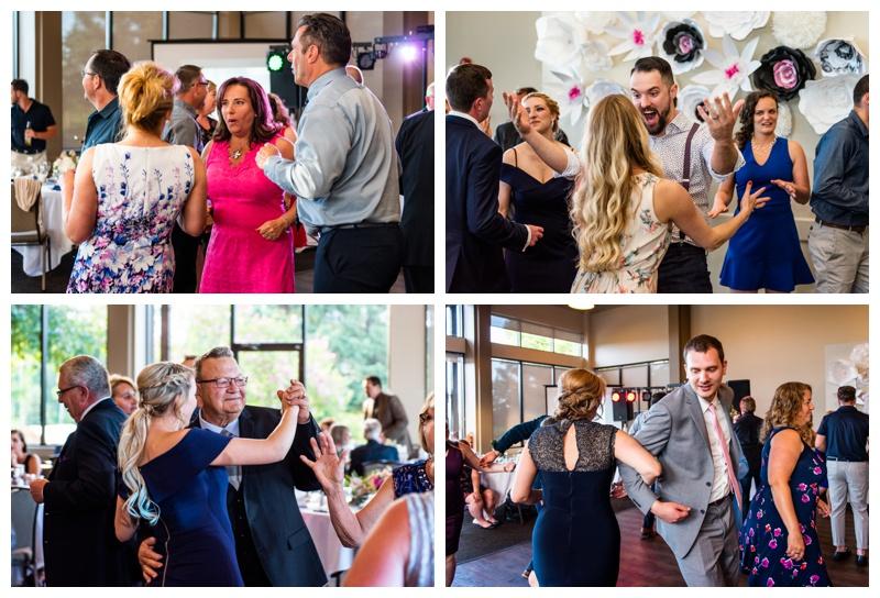 Valley Ridge Golf Course Wedding Reception Calgary