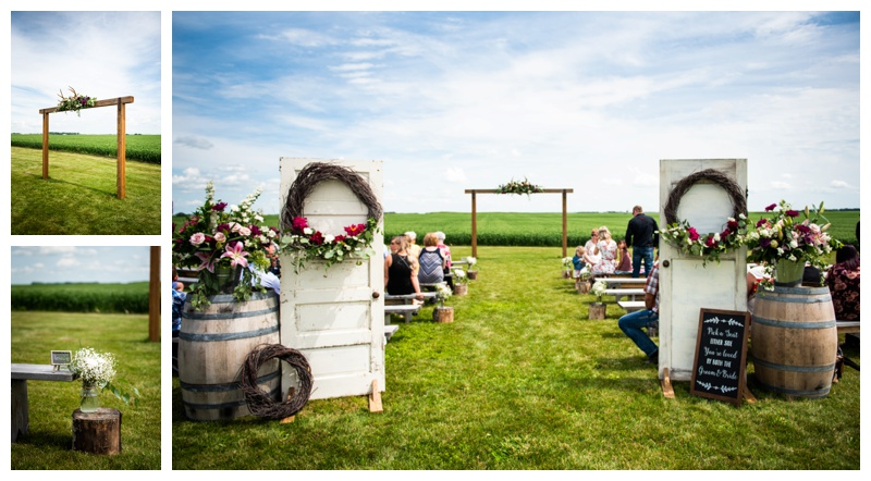 Willow Lane Barn Wedding Ceremony