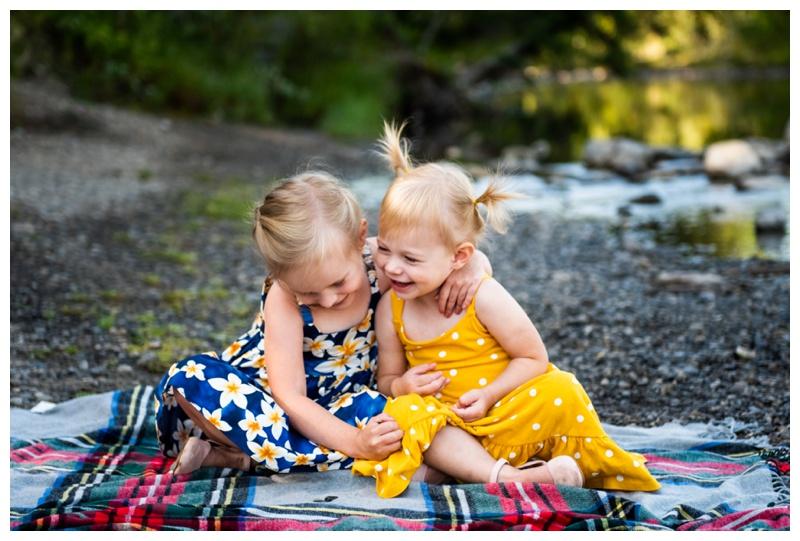 Bragg Creek Provincial Park Family Photos