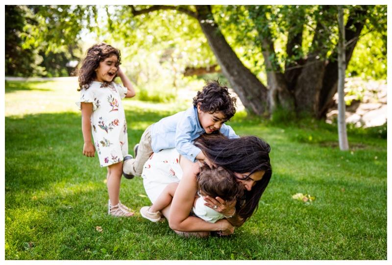 Calgary Confederation Park Family Photos