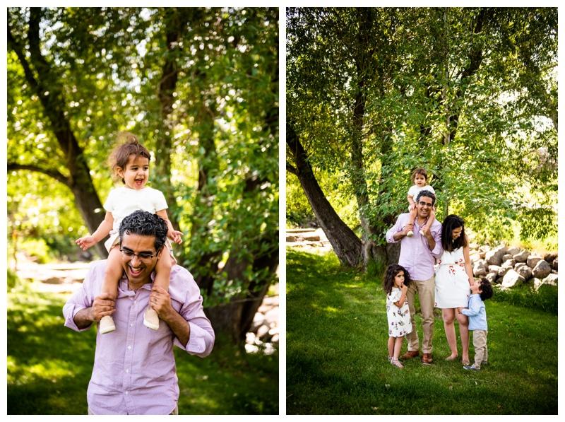 Calgary Confederation Park Family Session