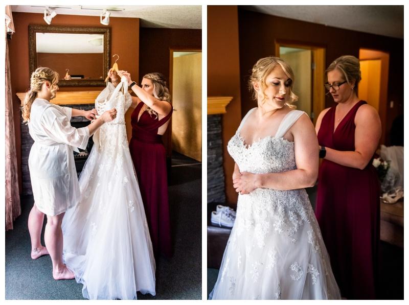 Canmore Cornerstone Wedding Photographer