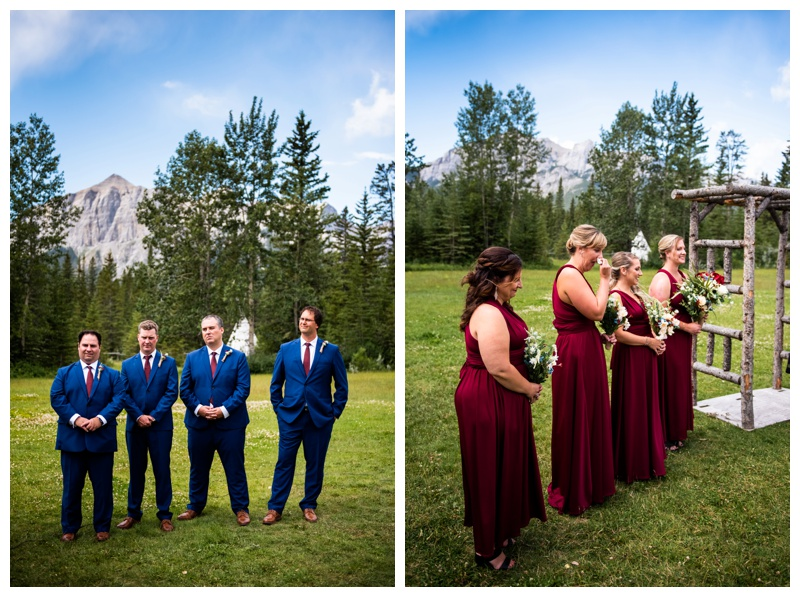 Canmore Ranch Wedding Ceremony Photographers