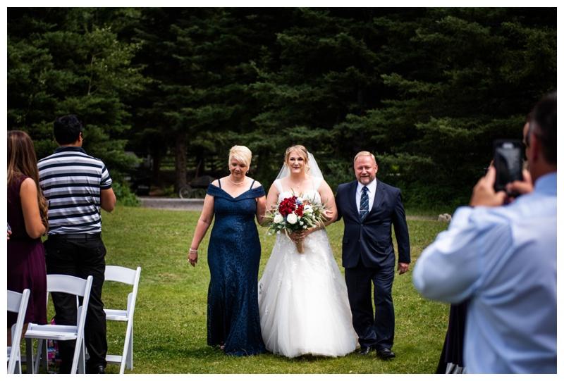 Canmore Cornerstone Wedding