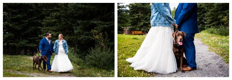 Canmore Wedding Photos - Canmore Ranch