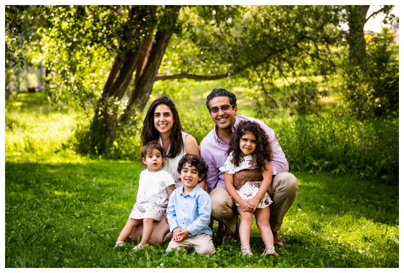 Confederation Park - Calgary Family Photos