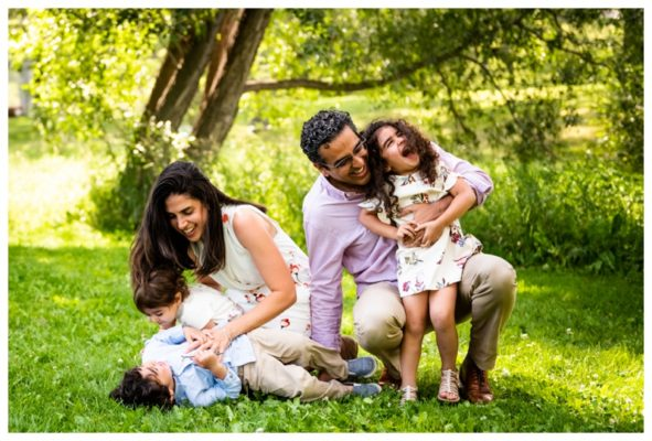 Calgary Confederation Park Family Session | The Kazmi Family | Calgary Family Photographer