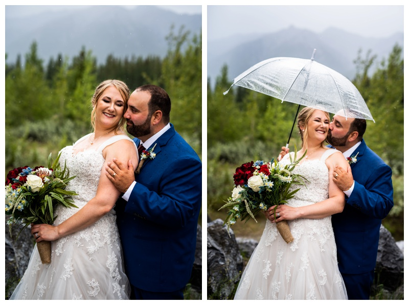 Cornerstone Wedding Photo- Canmore Alberta