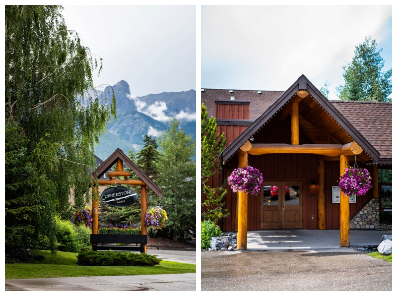 Cornerstone Wedding Reception- Canmore Alberta