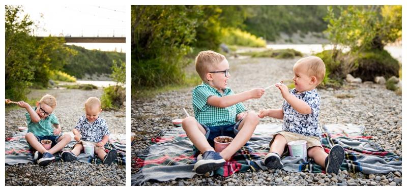 Family Photographers Calgary- Sandy Beach Park