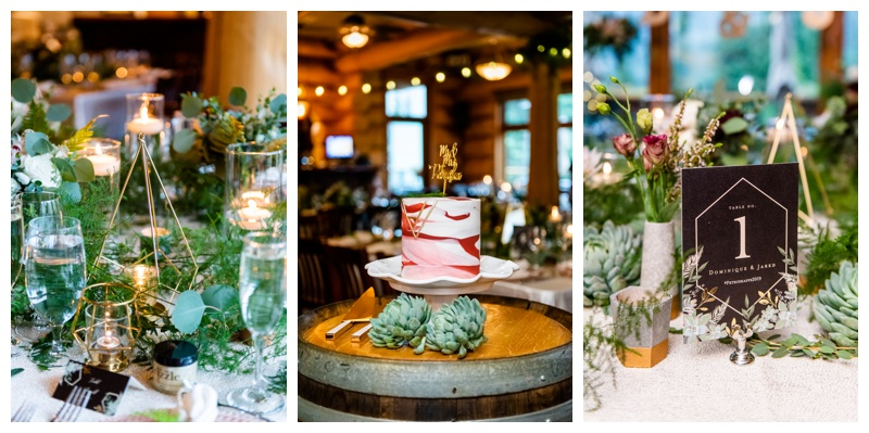 Fernie Island Lake Lodge Wedding - Wedding Reception Photographers