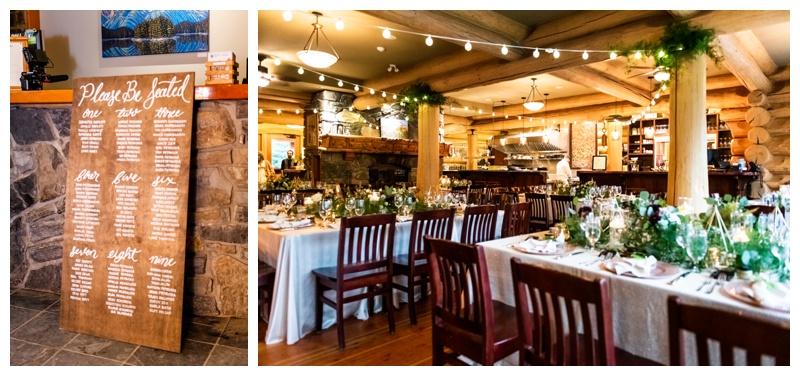 Fernie Island Lake Lodge Wedding - Wedding Reception Photography