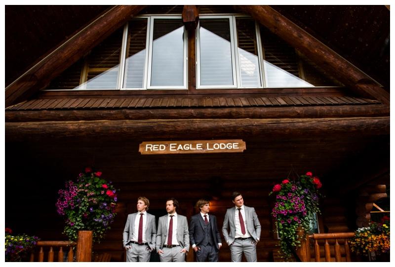 Island Lake Lodge Wedding Fernie BC- Wedding Party Photos