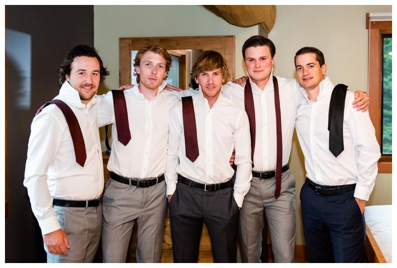 Island Lake Lodge Wedding - Groom Prep Photography