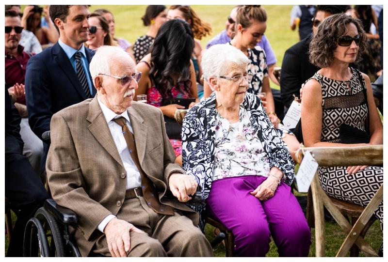 Wedding Ceremony Photos Dewinton Community Hall