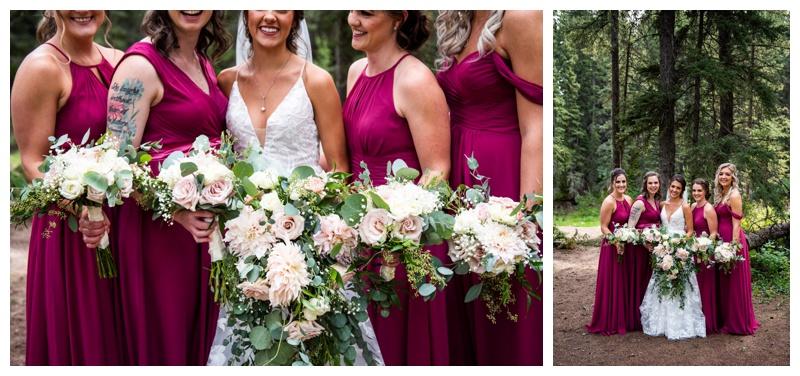 Wedding Party Photos - Calgary Wedding Photographer