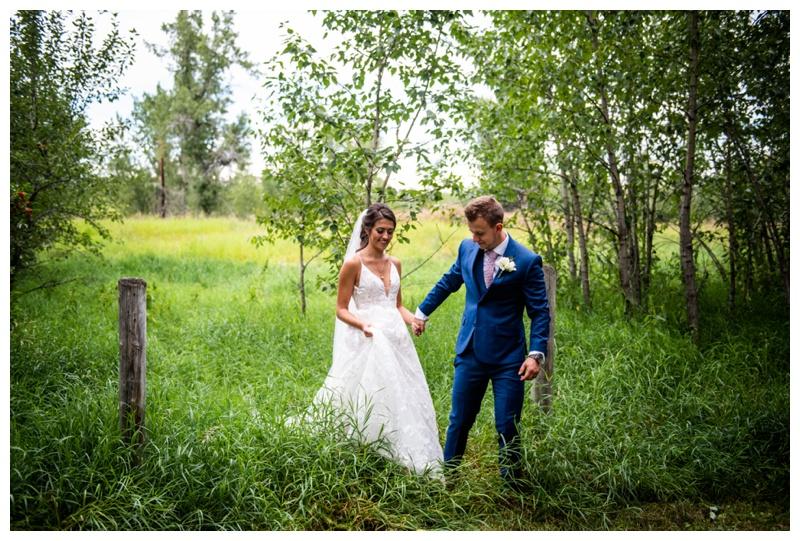Wedding Photographers Calgary Alberta - Dewinton Wedding Ceremony Photos