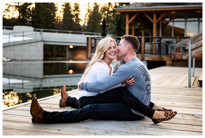 Bowness Park Engagement Photographer Calgary Alberta