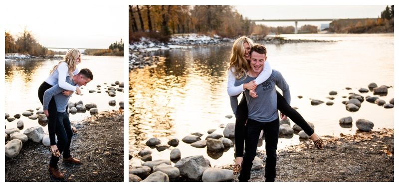 Bowness Park Engagement Photographer Calgary