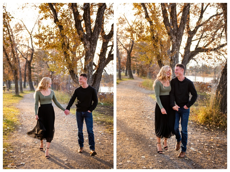 Bowness Park Engagement Photographer