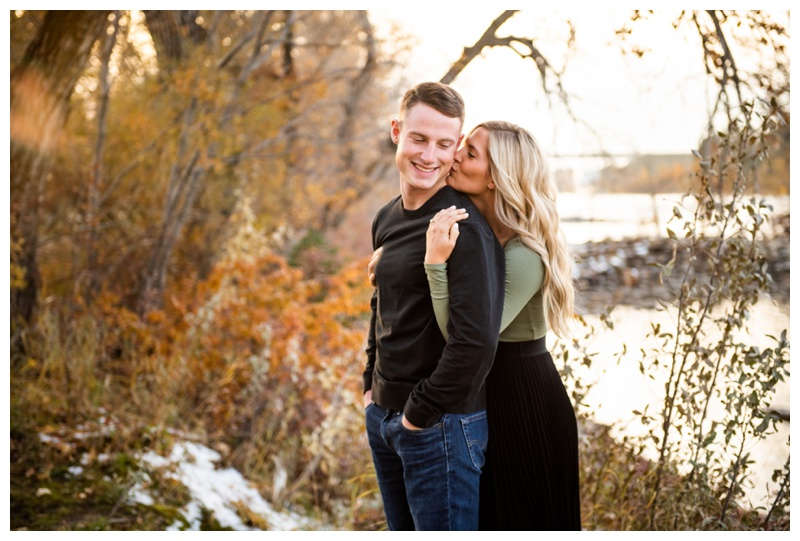 Bowness Park Engagement Photographers