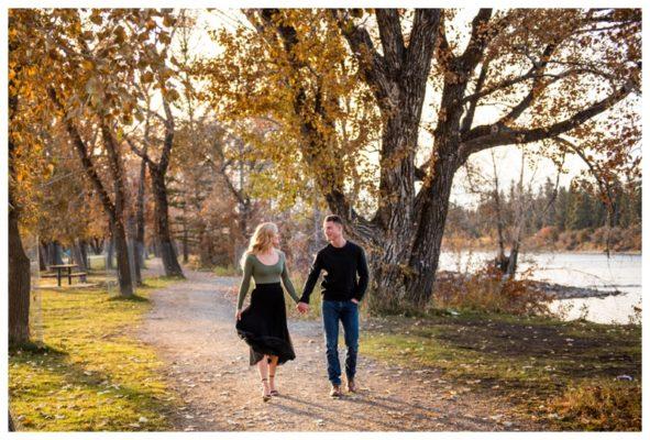 Calgary Bowness Park Engagement Photos | Matt & Chelsey | Calgary Engagement Photographer