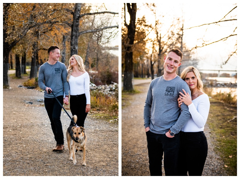Bowness Park Engagement Photos Calgary Alberta