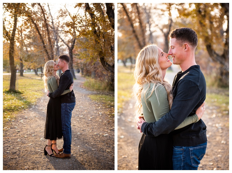Bowness Park Engagement Photos