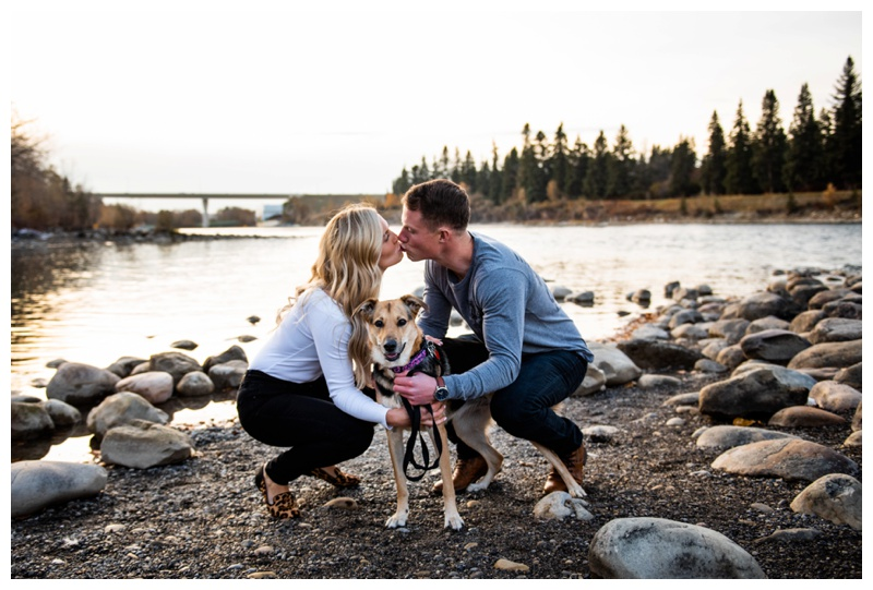 Calgary Alberta Bowness Park Engagement Photos