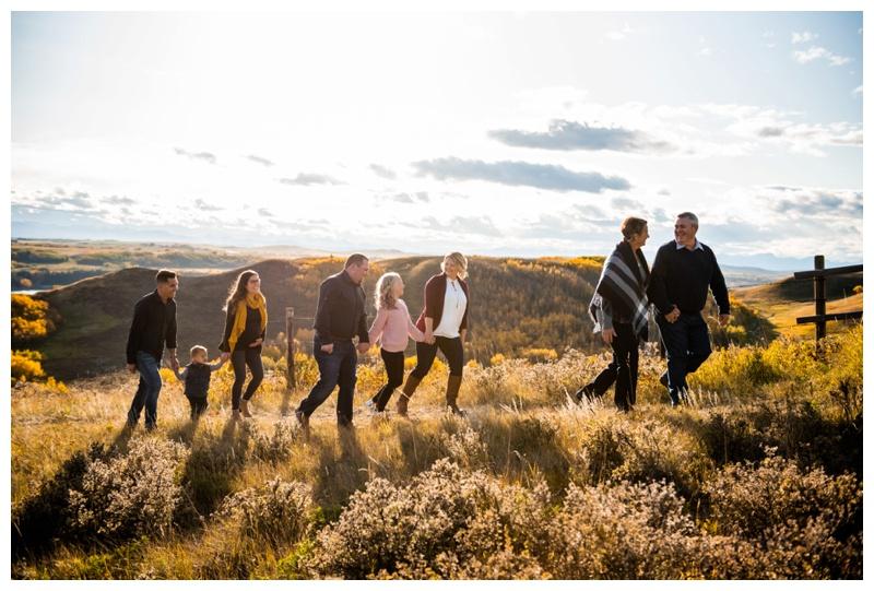Calgary Alberta Extended Family Photographer