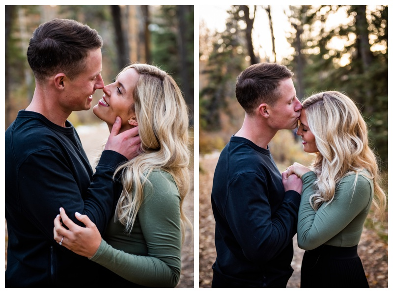 Calgary Bowness Park Engagement Photographers